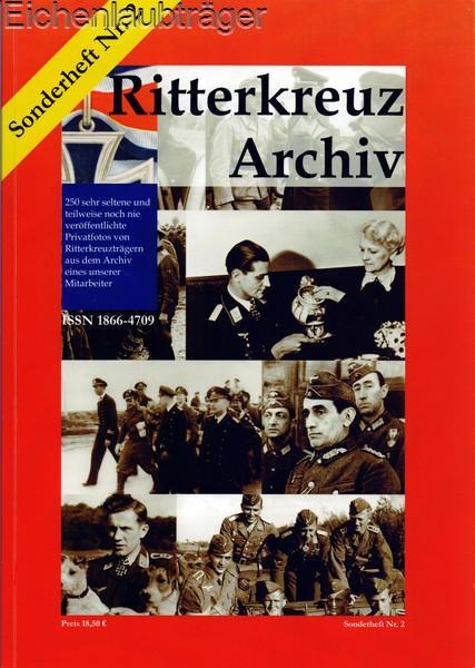 Ritterkreuz-Archiv Sonderheft Nr. 2